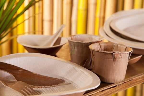 экологическая посуда из тростника
